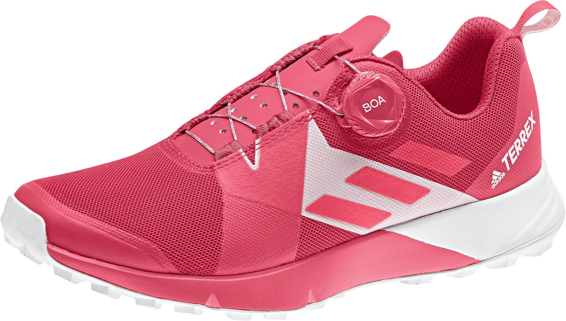 adidas TERREX Two Boa Sko Damer, active pinkshoredftwr white
